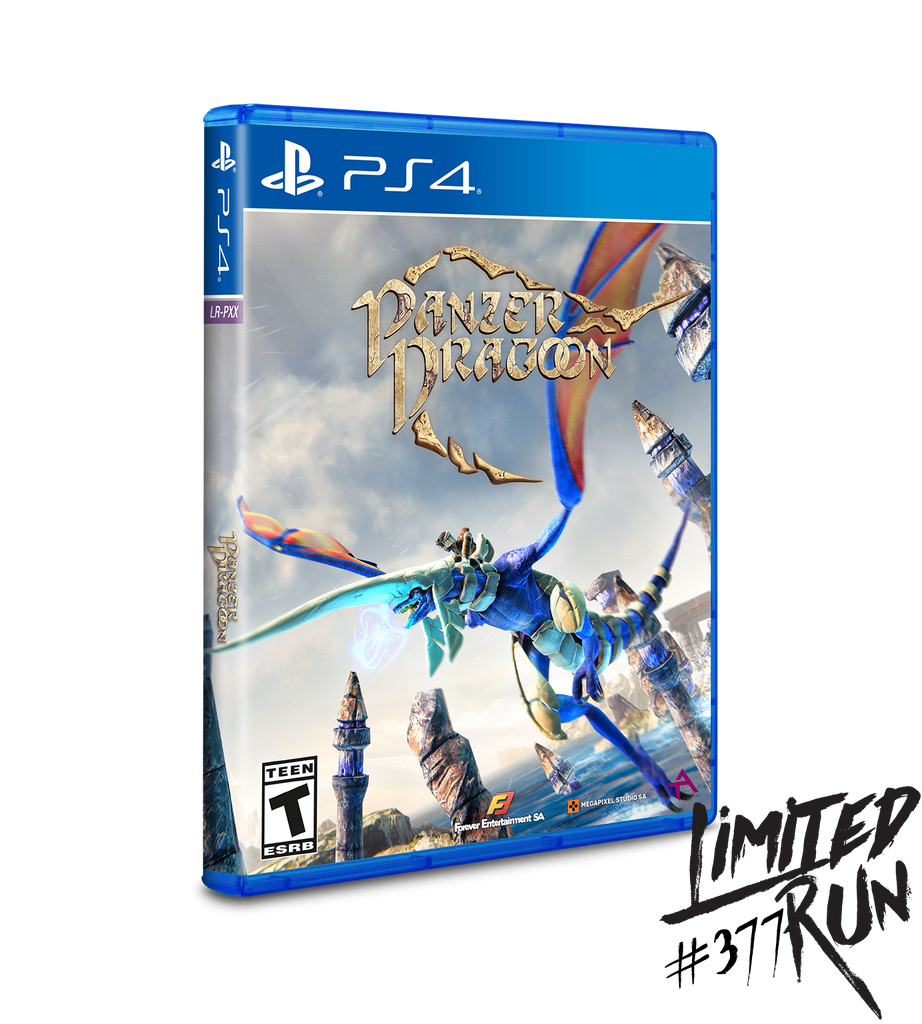 Limited Run #377: Panzer Dragoon (PS4)