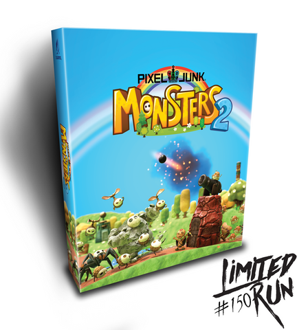 Limited Run #150: PixelJunk Monsters 2 Collector's Edition (PS4) [PREORDER]