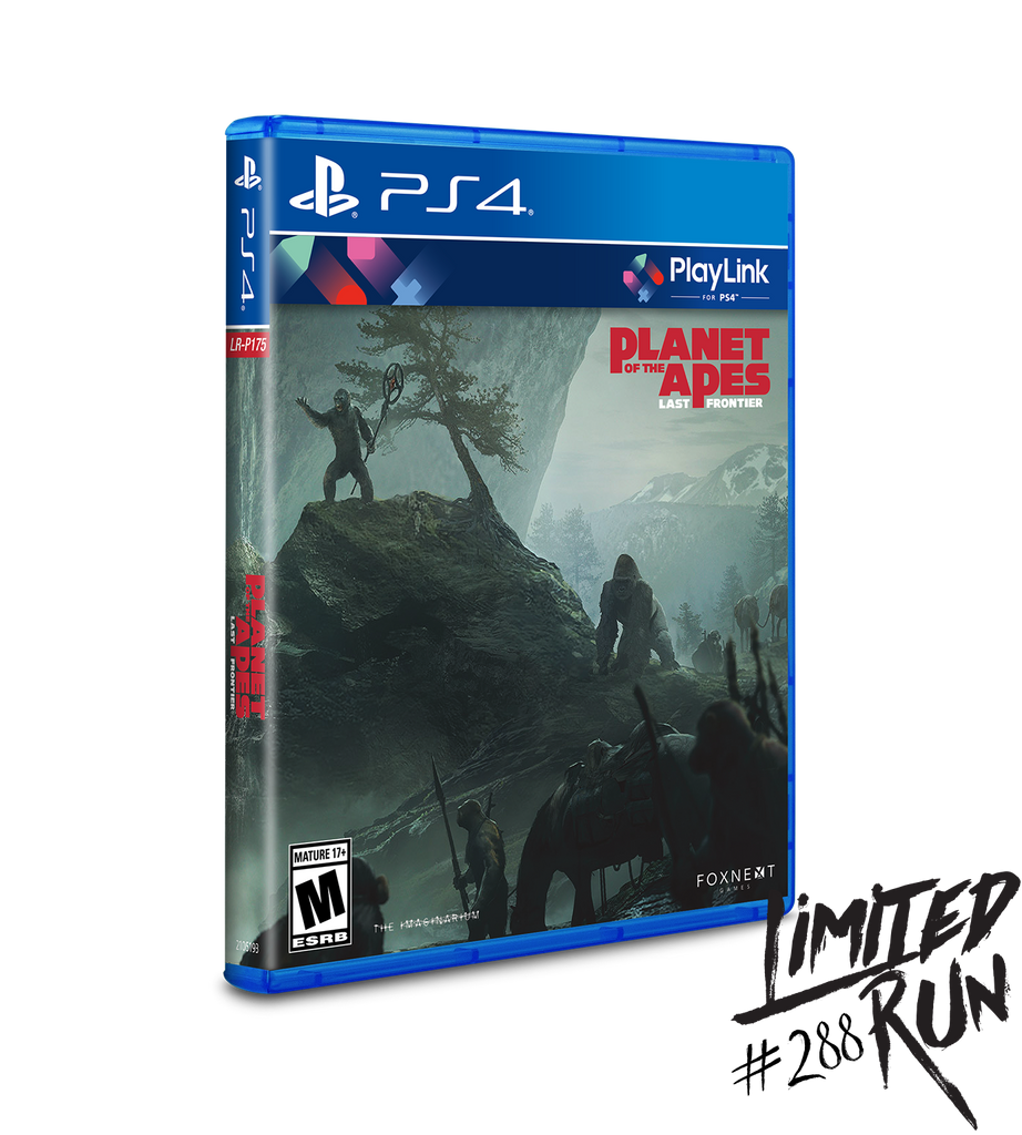 Limited Run #288: Planet of the Apes Last Frontier (PS4)