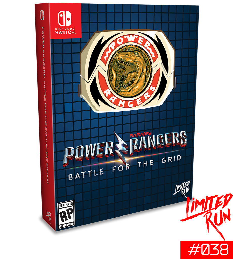 Switch Limited Run #38: Power Rangers: Battle for the Grid Mega Edition [PREORDER]