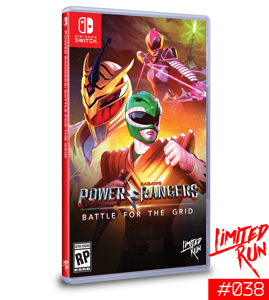 Switch Limited Run #38: Power Rangers: Battle for the Grid [PREORDER]