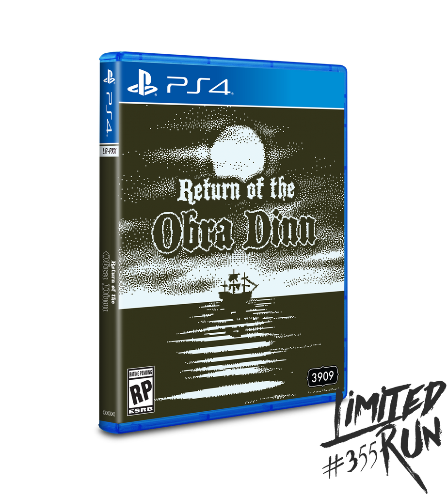 Limited Run #355: Return of the Obra Dinn (PS4) [PREORDER]