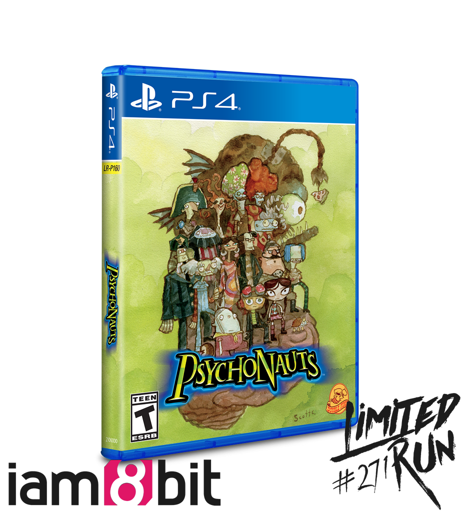 Limited Run #271: Psychonauts iam8bit Variant (PS4)