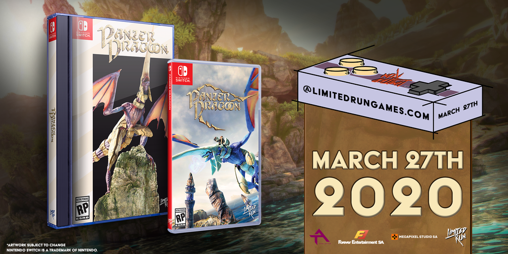 Switch Limited Run #67: Panzer Dragoon Classic Edition [PREORDER]