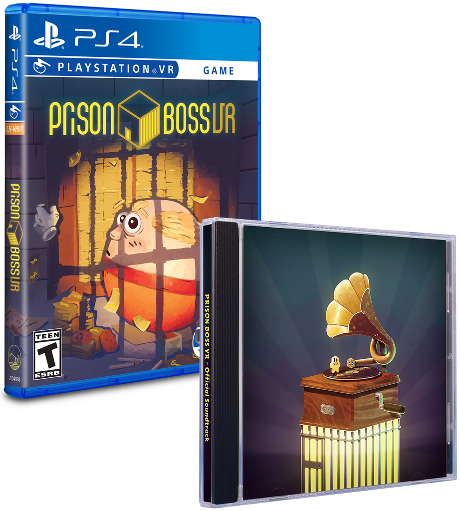 Limited Run #257: Prison Boss VR Soundtrack Bundle (PS4)