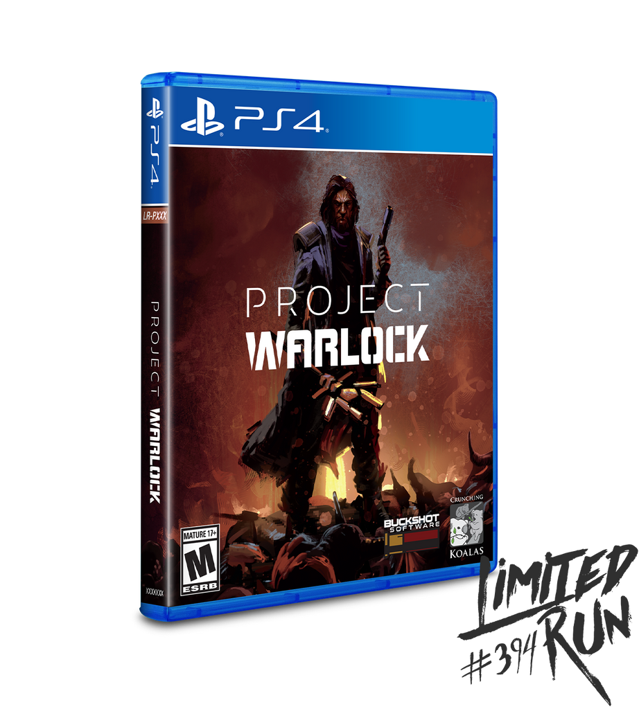 Limited Run #394: Project Warlock (PS4)