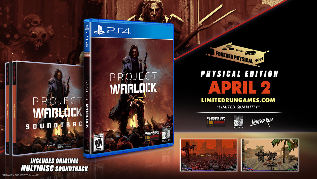 Limited Run #394: Project Warlock Soundtrack Bundle (PS4)