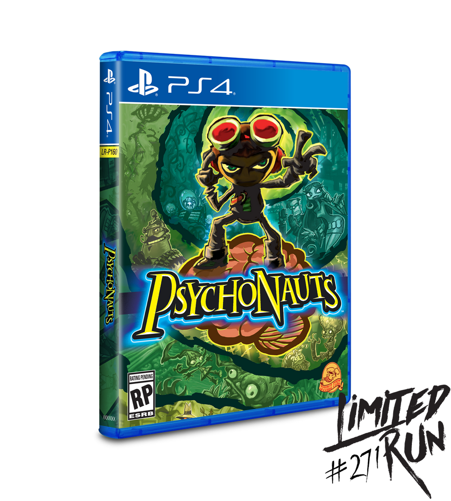 Limited Run #271: Psychonauts (PS4) [PREORDER]