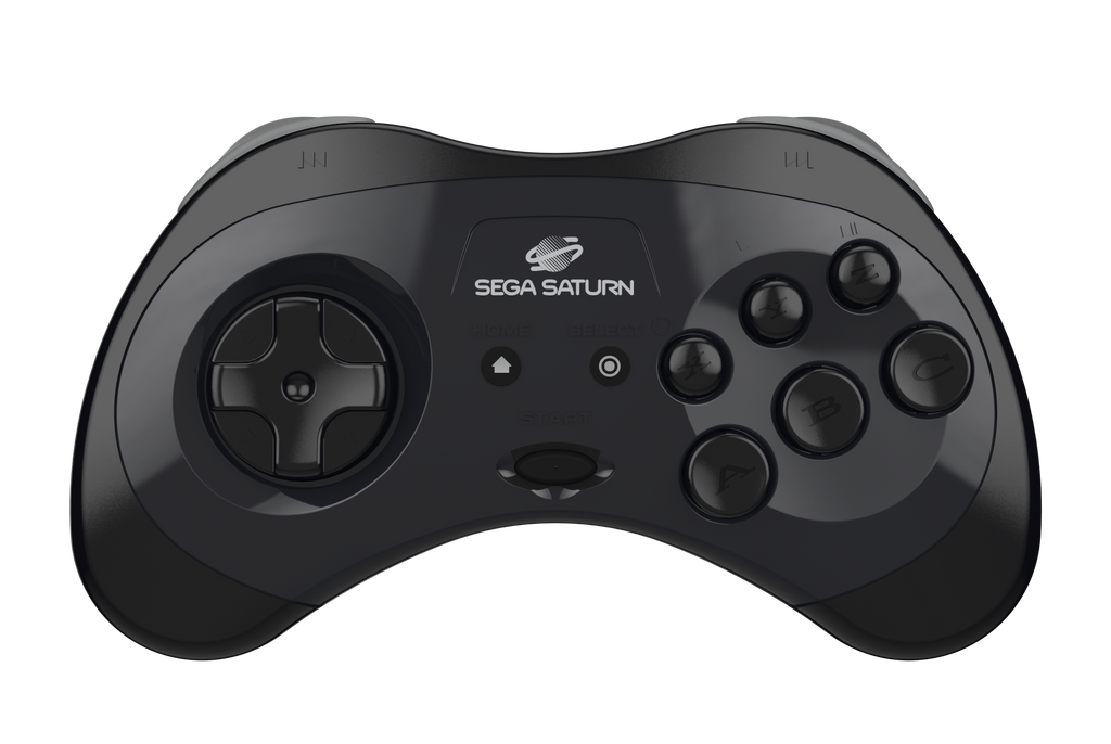 Official SEGA Saturn Bluetooth Controller (Black)