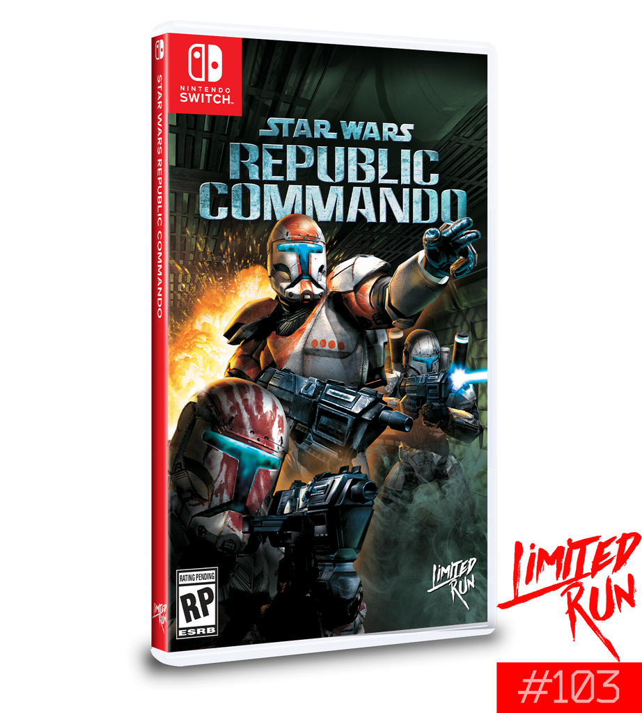 Switch Limited Run #103: Star Wars: Republic Commando