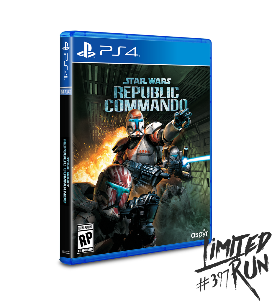 Limited Run #397: Star Wars: Republic Commando (PS4)