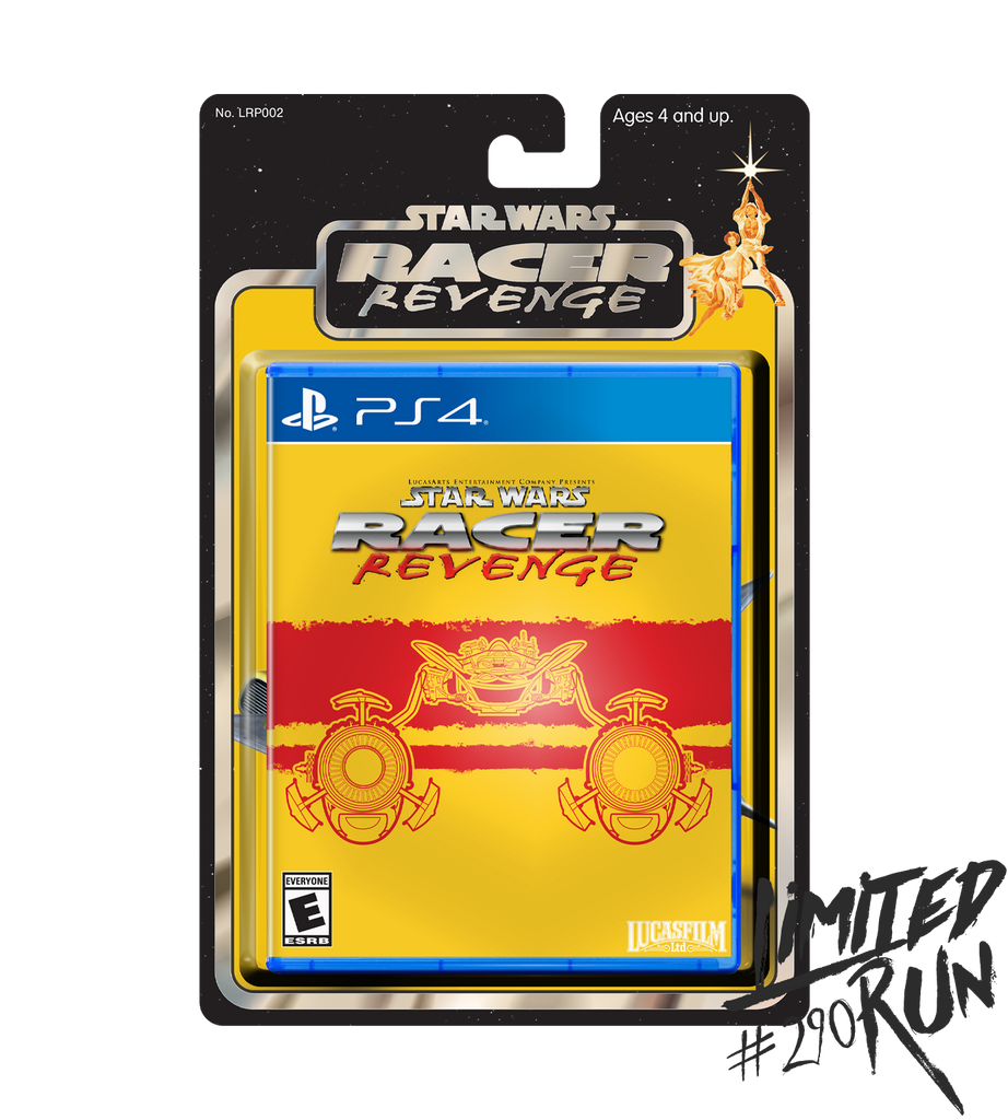 Limited Run #290: Star Wars Racer Revenge Classic Edition (PS4)