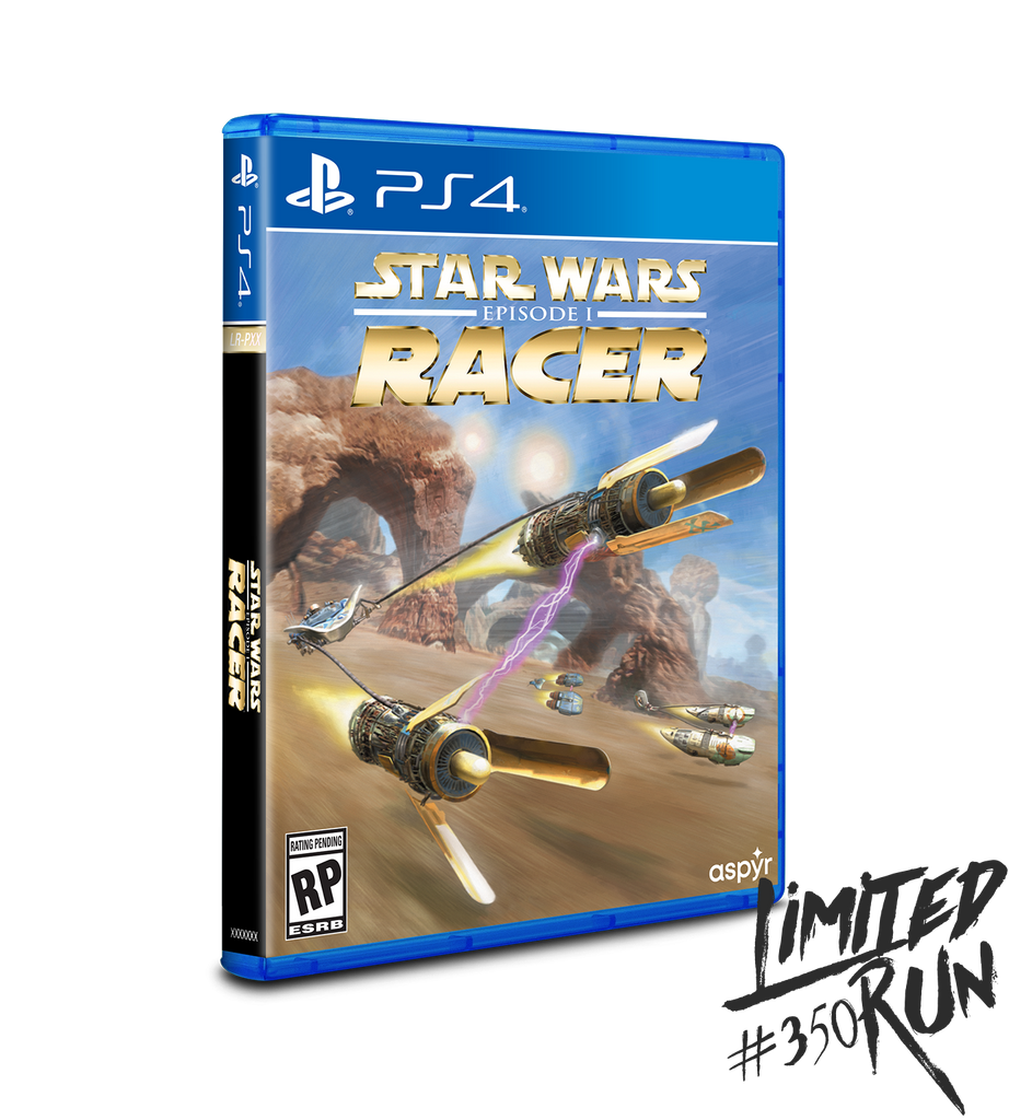 Limited Run #350: Star Wars Episode I: Racer (PS4) [PREORDER]