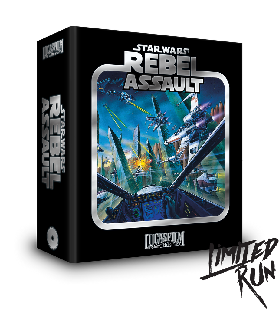 Star Wars: Rebel Assault (SCD) Premium Edition