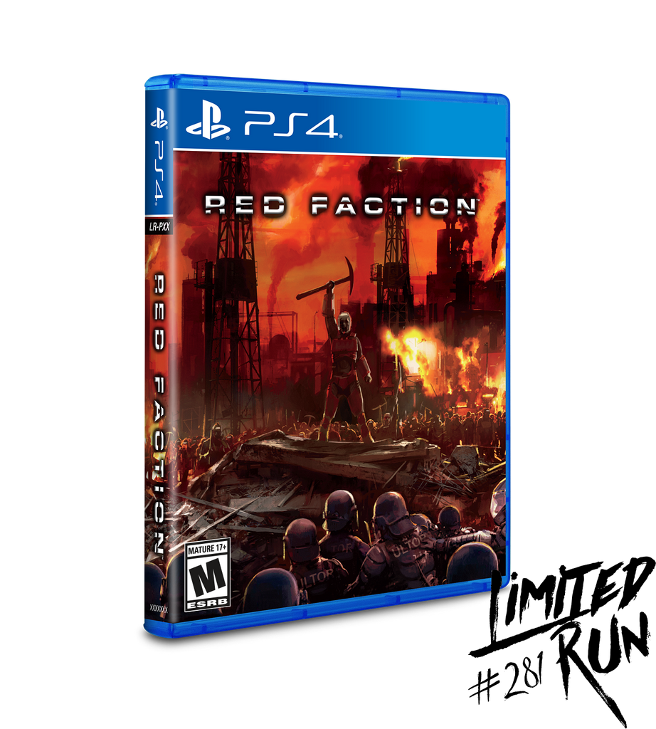 Limited Run #281: Red Faction (PS4) [PREORDER]