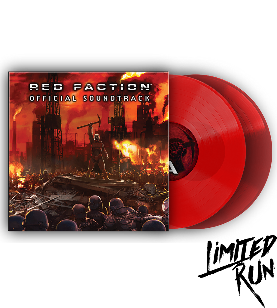 Red Faction Soundtrack Vinyl
