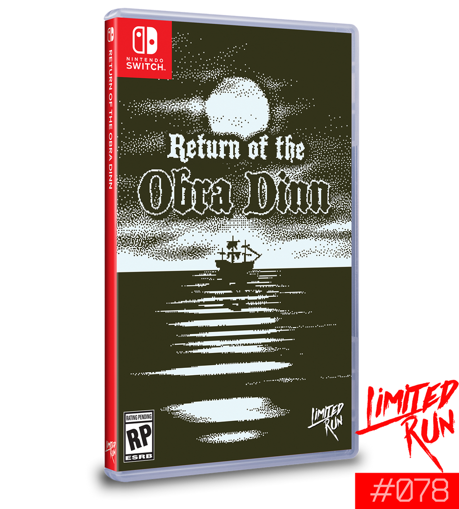 Switch Limited Run #78: Return of the Obra Dinn [PREORDER]