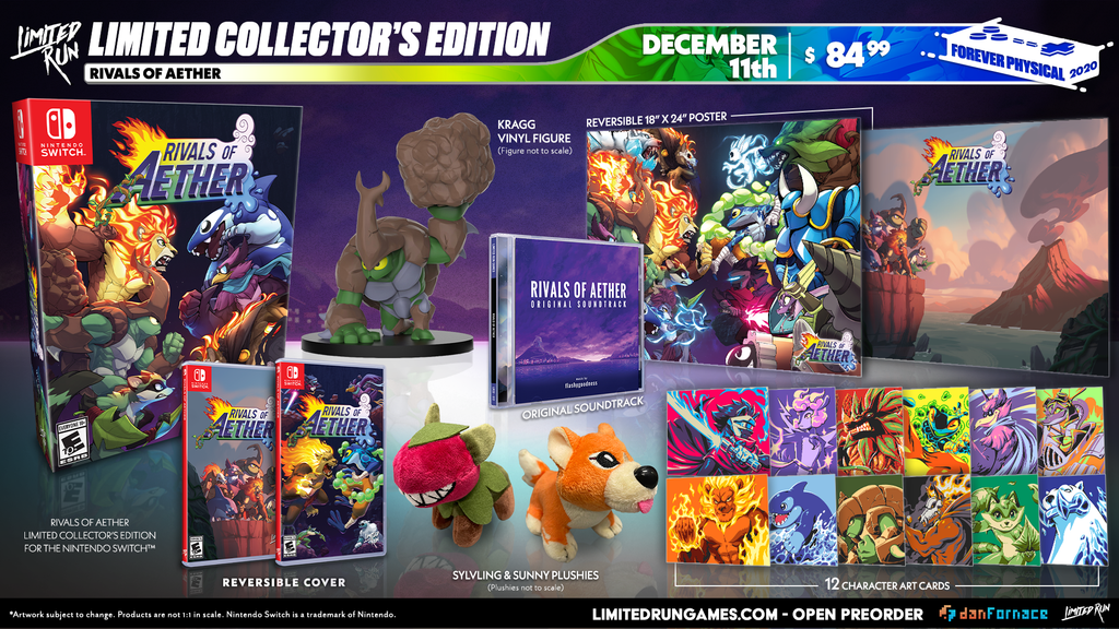 Switch Limited Run #91: Rivals of Aether Collector's Edition