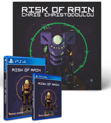 Risk of Rain Vinyl Soundtrack Bundle (PS4 + Vita)