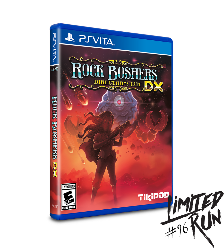 Limited Run #96: Rock Boshers DX (Vita)