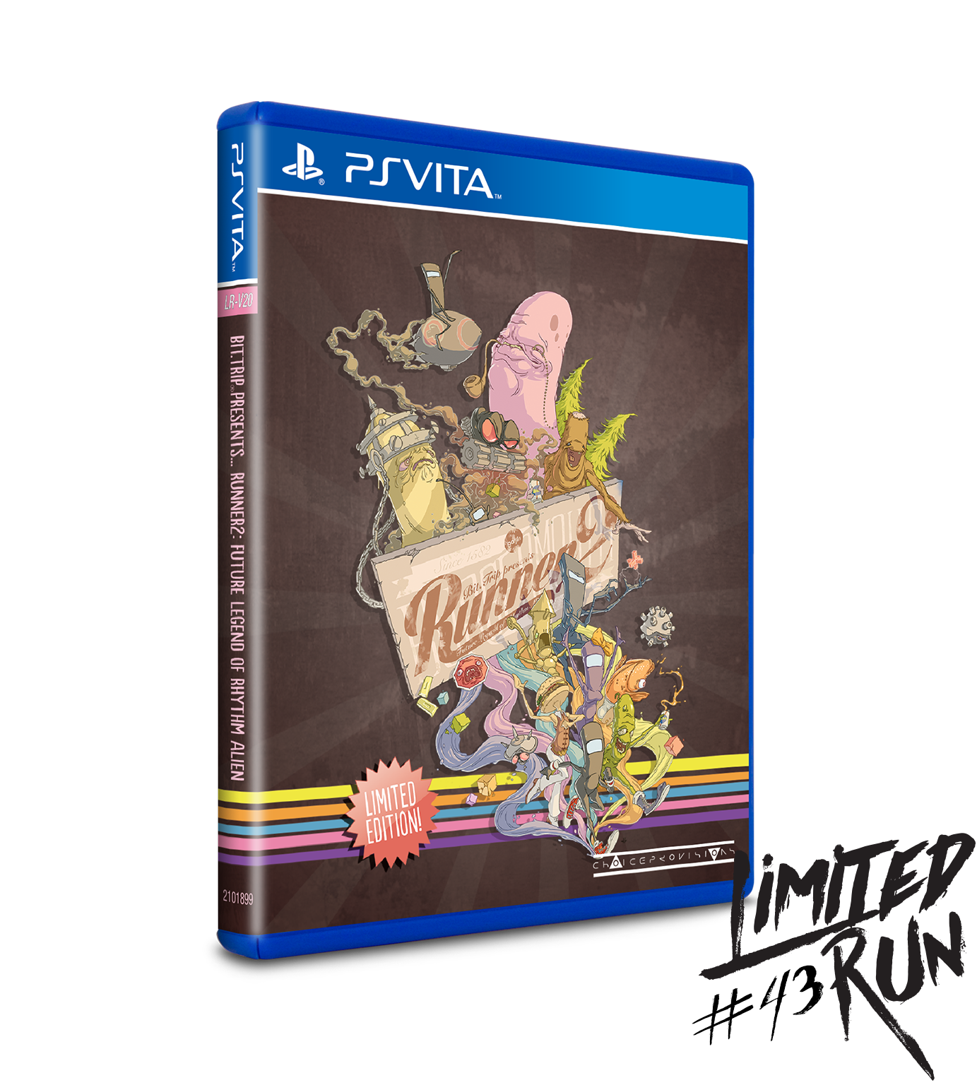 Image result for LIMITED RUN #43: RUNNER2