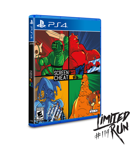Limited Run #114: Screencheat (PS4)