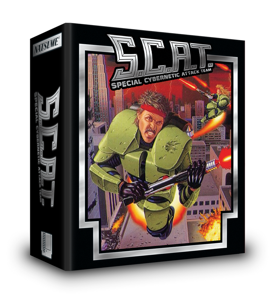 S.C.A.T.: Special Cybernetic Attack Team Collector's Edition (NES)