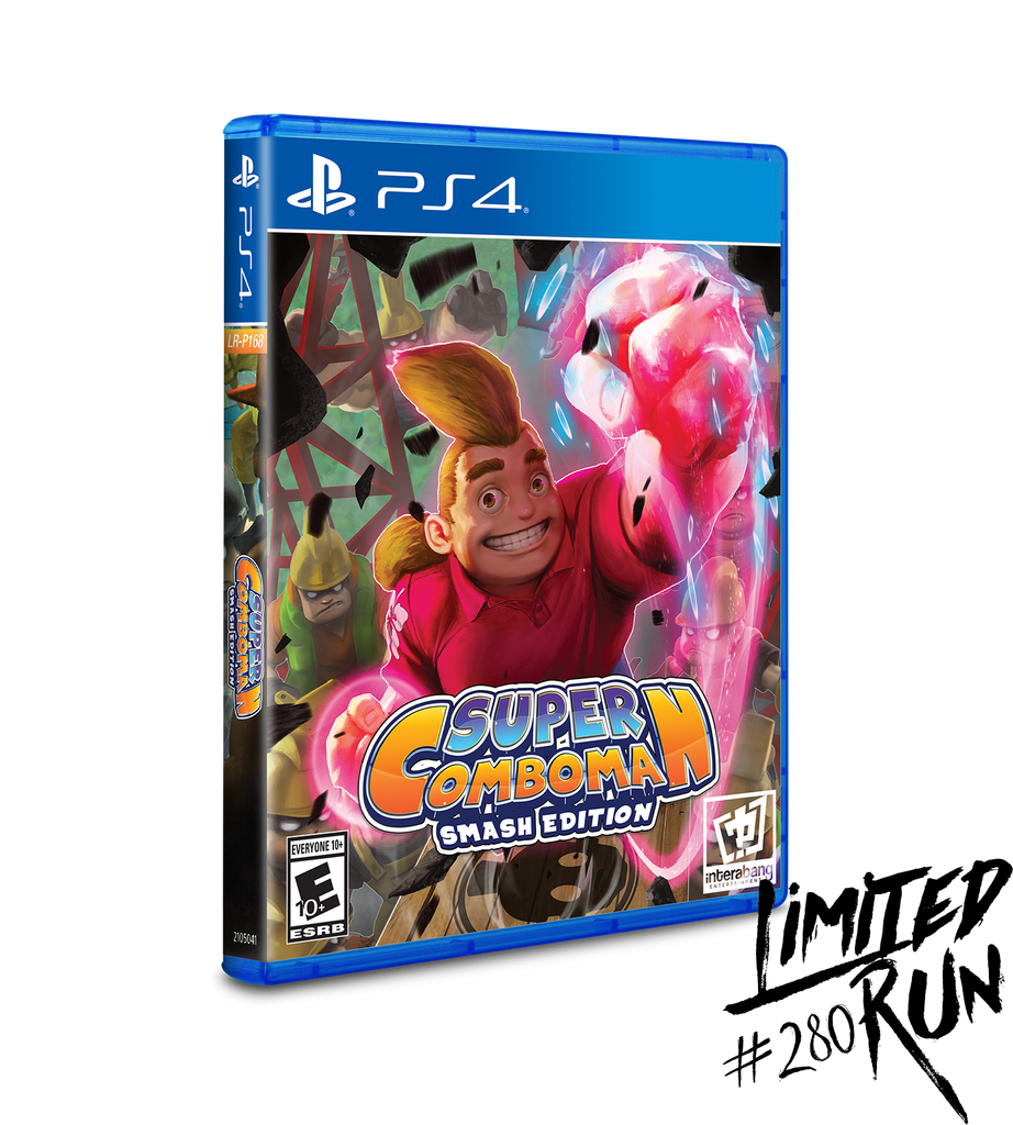 Limited Run #280: Super ComboMan: Smash Edition (PS4)