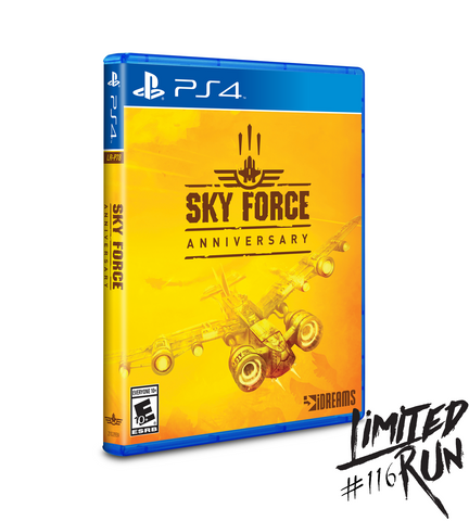 Limited Run #116: Sky Force Anniversary (PS4)