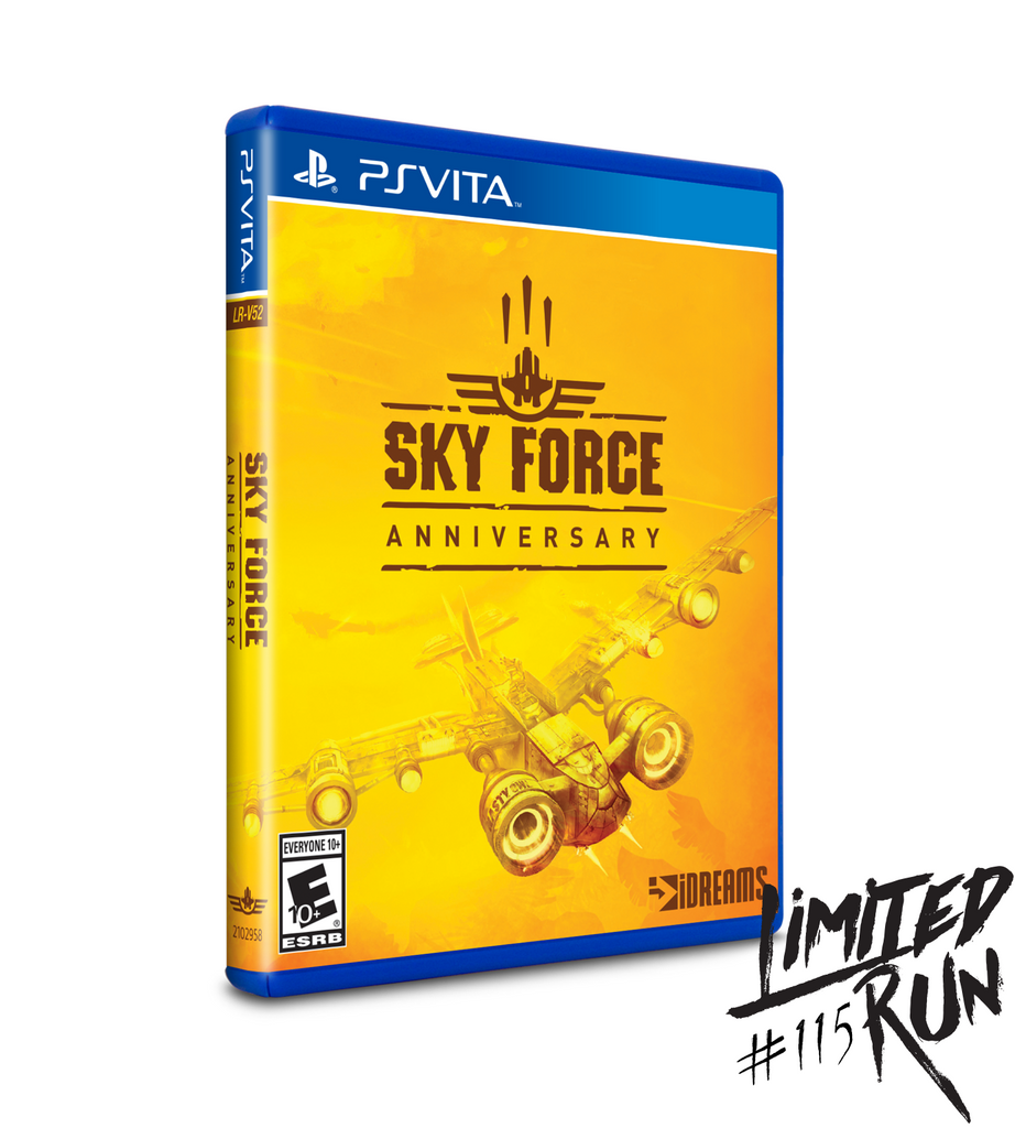 Limited Run #115: Sky Force Anniversary (Vita)