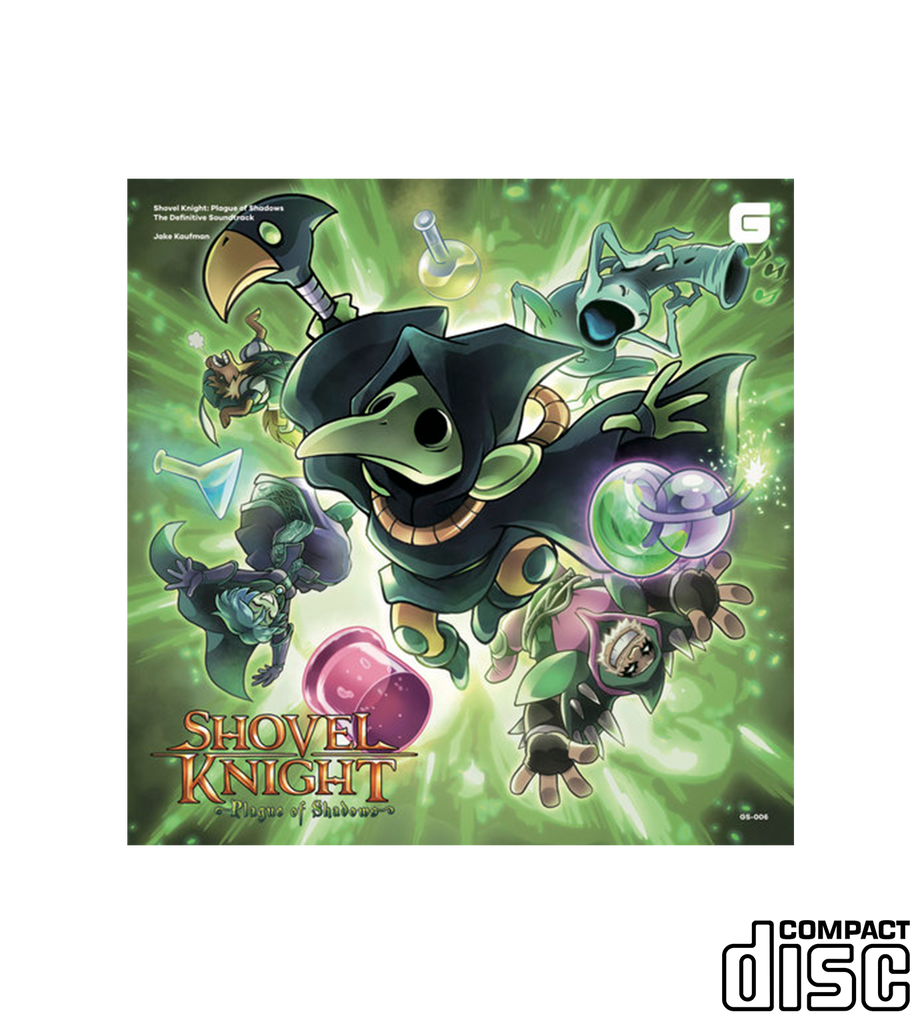 Shovel Knight: Plague of Shadows The Definitive Soundtrack (CD or Vinyl)