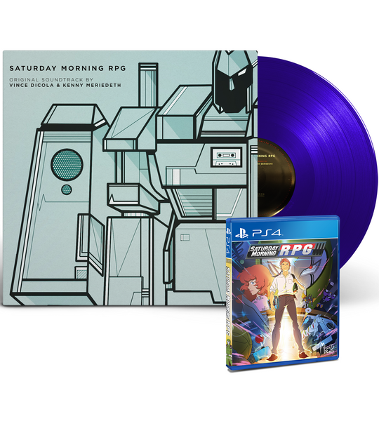 Saturday Morning RPG OST Vinyl + PS4 Game Bundle