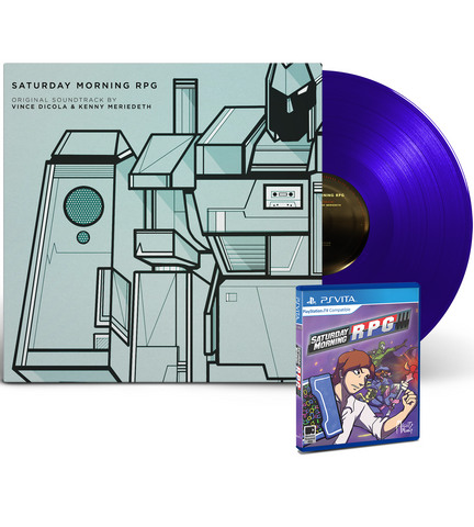 Saturday Morning RPG OST Vinyl + Vita Game Bundle