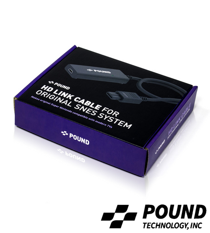 Pound Technology® SNES HDMI Cable