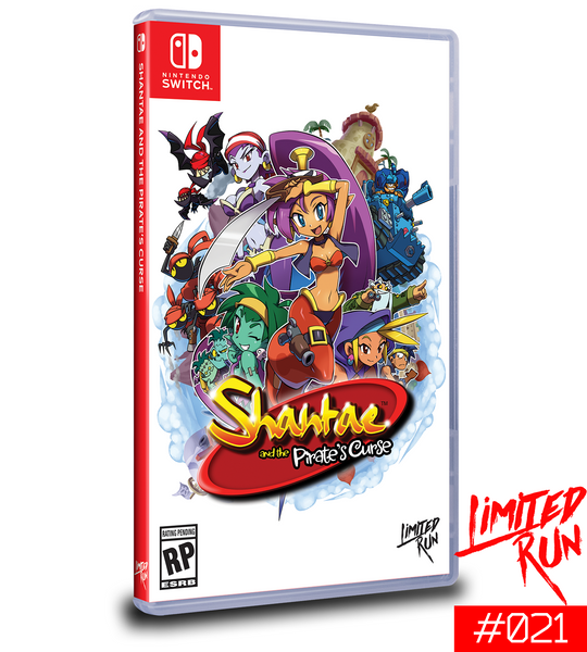 Switch Limited Run #21: Shantae and the Pirate's Curse [PREORDER]