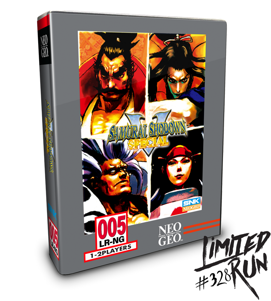 Limited Run #328: Samurai Shodown V Special Classic Edition (PS4)