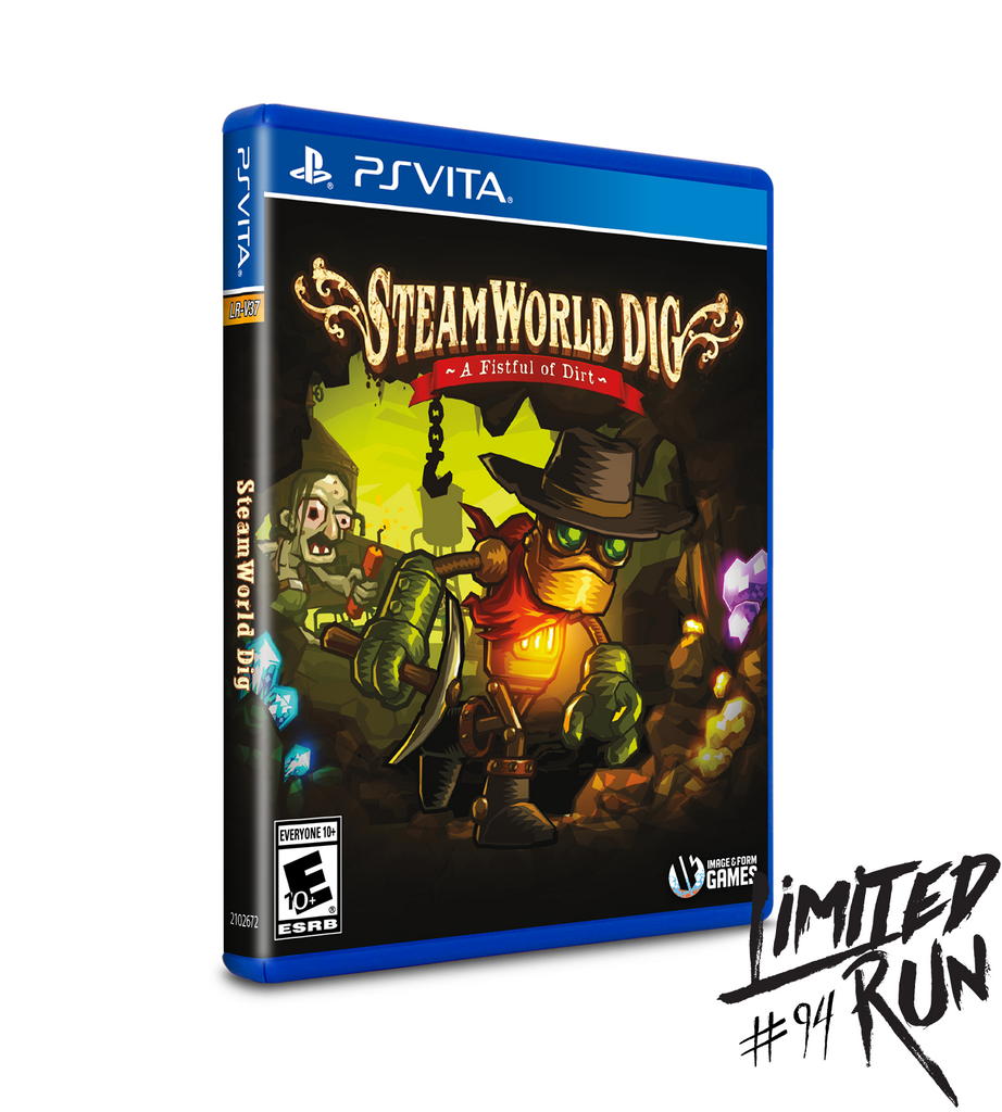 Limited Run #94: SteamWorld Dig (Vita)