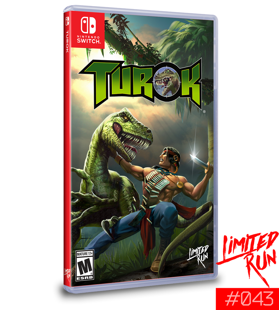 Switch Limited Run #43: Turok [PREORDER]