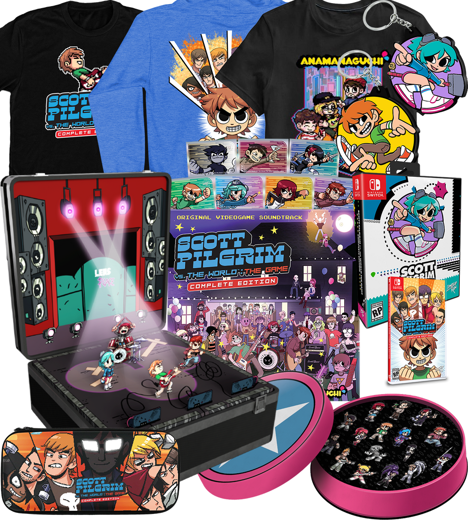 Scott Pilgrim vs. The World: The Game Fan Bundle