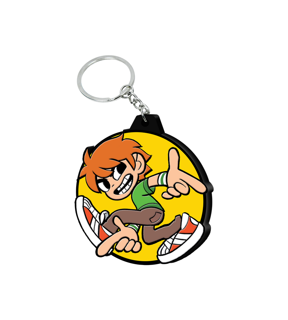 Scott Pilgrim Vs. The World: The Game Scott Pilgrim Keychain