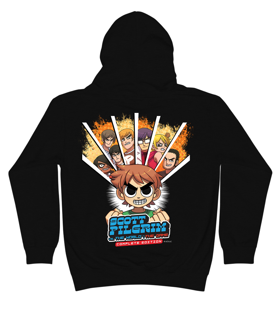 Scott Pilgrim Vs. The World: The Game Zip Hoodie