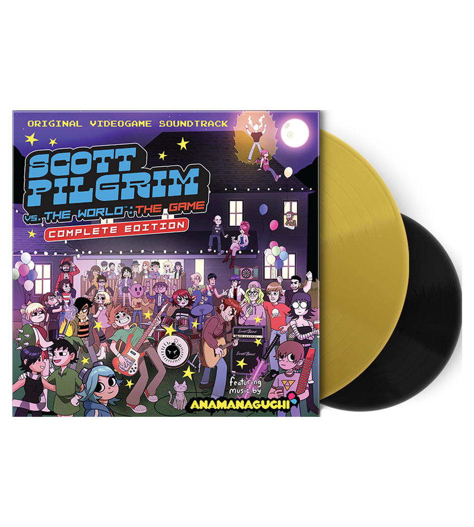 Scott Pilgrim Vs. The World: The Game - Complete Edition Vinyl Soundtrack (LRG Exclusive)