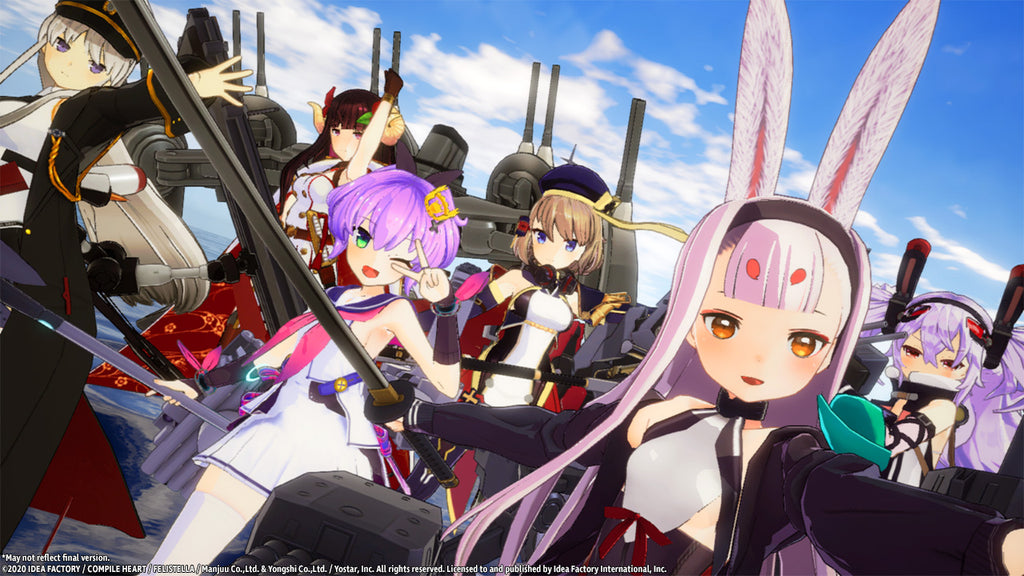 Azur Lane: Crosswave (Switch)