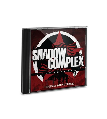Shadow Complex Soundtrack CD
