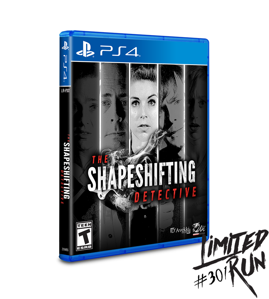 Limited Run #301: The Shapeshifting Detective (PS4)