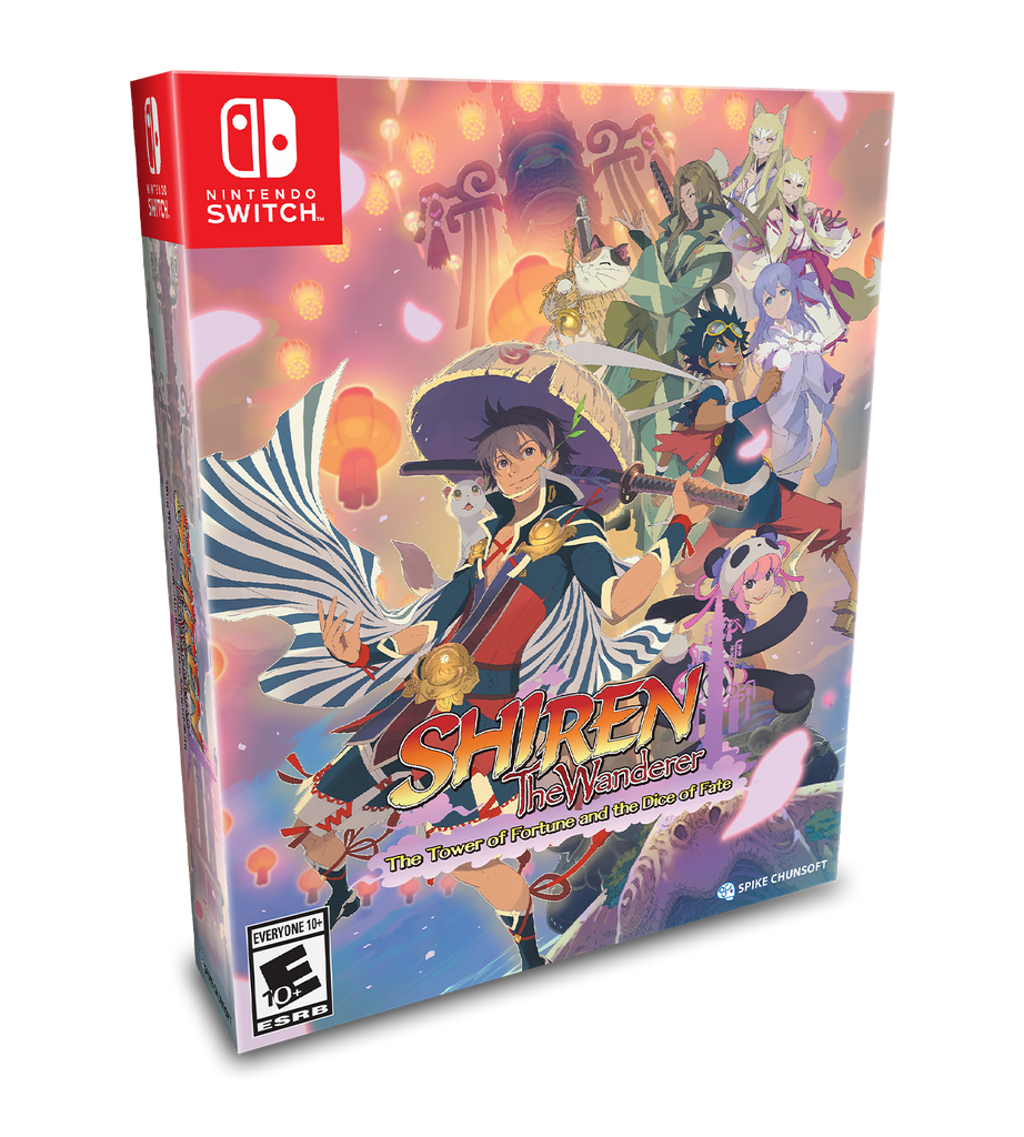 Shiren The Wanderer Collector's Edition (Switch)