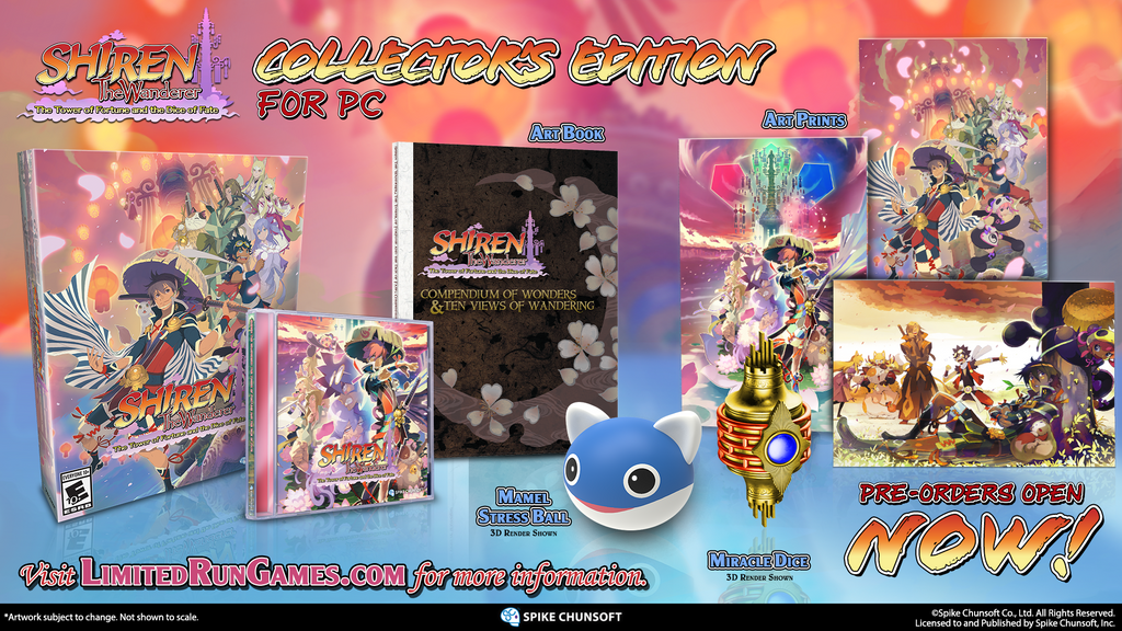 Shiren The Wanderer Collector's Edition (PC)