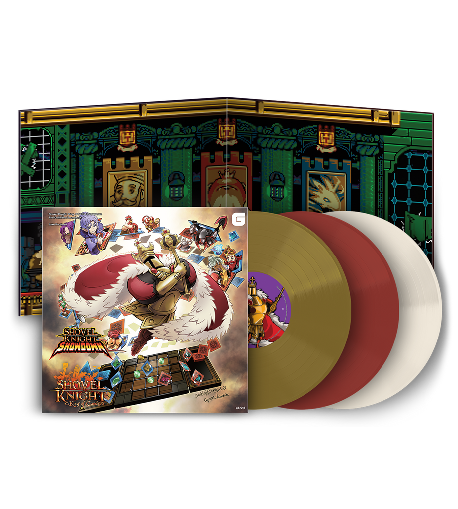 Shovel Knight: King of Cards + Showdown The Definitive Vinyl Soundtrack (Signed)