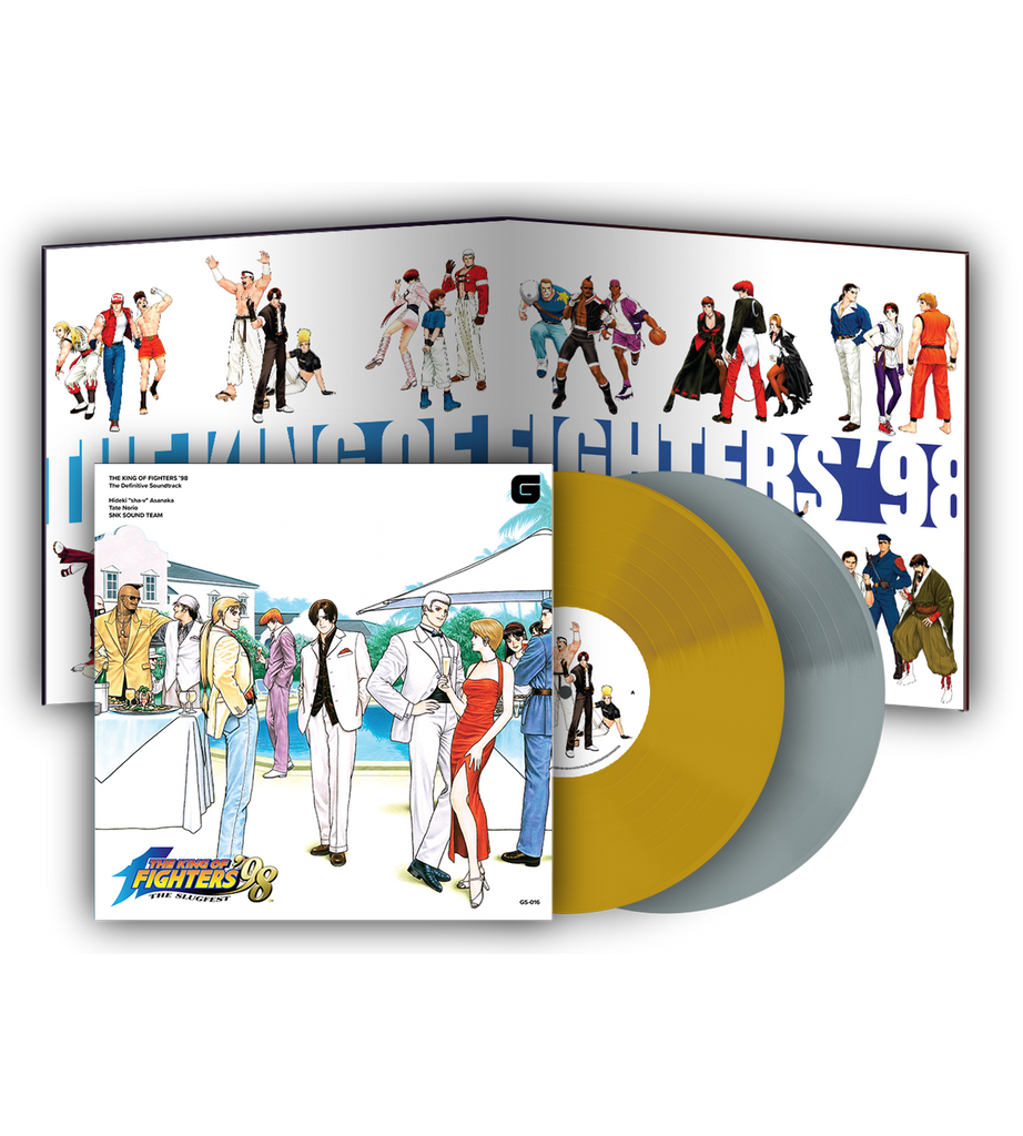 The King of Fighters '98 2LP Soundtrack Vinyl (Signed)