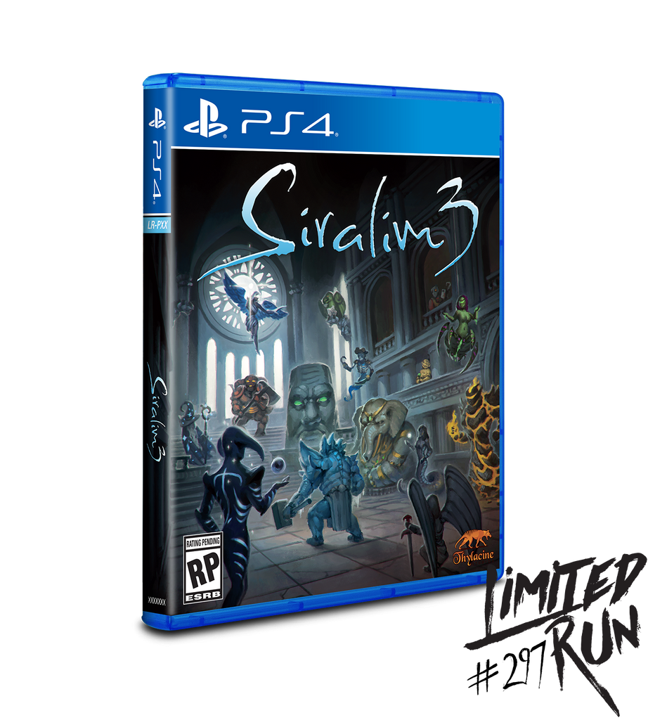 Limited Run #297: Siralim 3 (PS4)